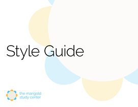 Click to download Marigold Style Guide